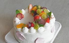 【4】オーダーケーキ[生クリームデコレーションケーキ]